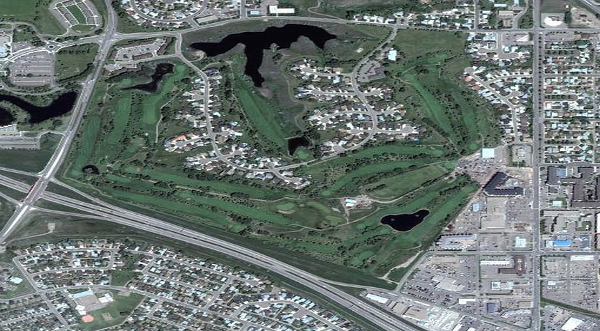 Connaught Golf Club masterplan design by Jeff Howes golf design